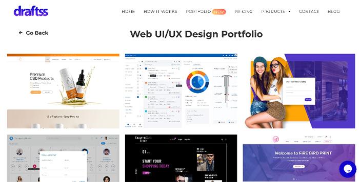 Porfolio của đơn vị thiết kế website